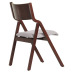 Side Chair with Upholstered Seat and Wood Back