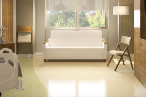 Plyfold shown with Allay® sleep sofa