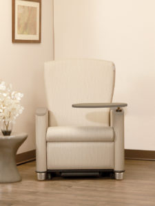 Cove Recliner, Optional Fold Down Table