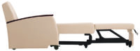 "Versant Sleep Chair, 24"" Seat, Modern Arm Cap, Shown in Sleep Position"