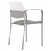 Upland Arm Chair, Poly Seat, Plastic Back