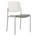 Upland Side Chair, Poly Seat, Plastic Back