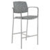 Upland Barstool with Arms, Uph Seat and Back