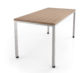 """Fuse Table, shown with caster option 30""""w x 60""""l x 29""""h"""